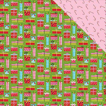 Santa Stops Here Double-Sided Cardstock 12
