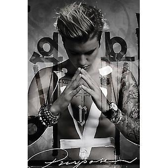 Justin Bieber Purpose Poster Poster Print