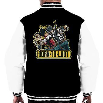 Born To Loot PlayerUnknown BattleGrounds Men's Varsity Jacket