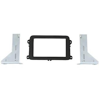 Car stereo double DIN faceplate AIV Volkswagen Golf V, Volkswagen Golf Plus, Volkswagen Pass
