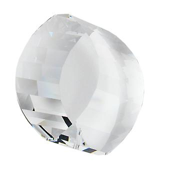 Cylinder clear crystal pendant