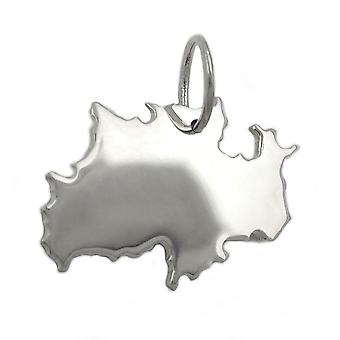 Pendant federal state of germany silver 925