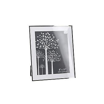 CGB Giftware Silver Flat Edge Photo Frame (8x10in)