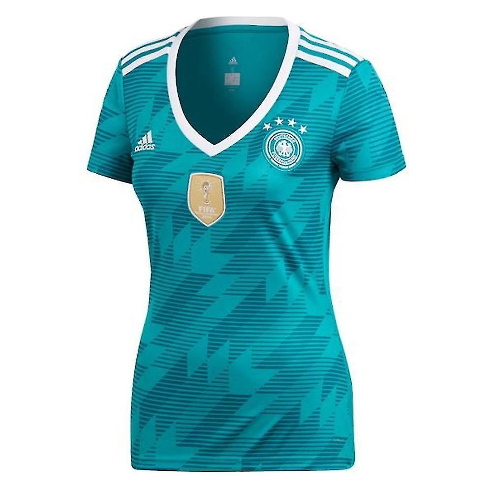 calidad estable comprar real baratas para descuento 2018-2019 Alemania Away Adidas para mujer camiseta