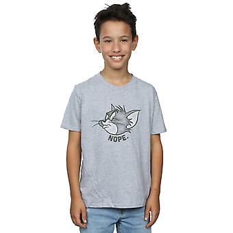 Tom and Jerry Boys Nope Face T-Shirt
