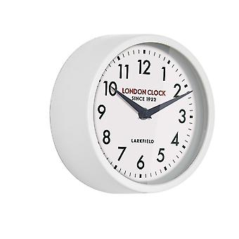 Londres 1922 18 cm Station Collection Horwich blanc mur horloge