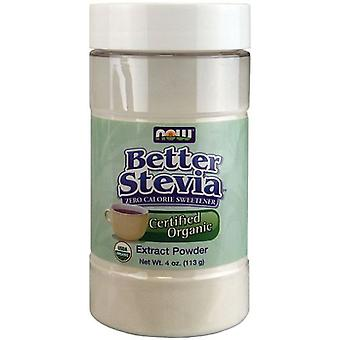 Now Foods Better Stevia Extract Powder Organic 113 gr (Diet , Sweeteners)