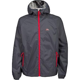 Trespass Mens Rocco II Waterproof Breathable Rain Shell Jacket