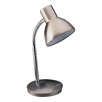 Lampe de Table Firstlight Harvard en acier brossé