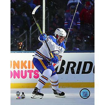Jack Eichel 2018 NHL Winter Classic Photo Print