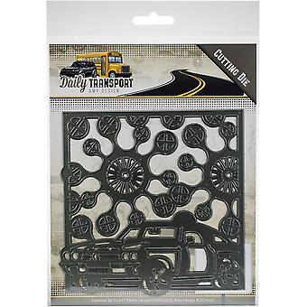 Find It Trading Amy Design Daily Transport Die-Car Frame ADD10127