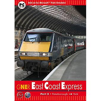 East Coast Express 2 Peterborough to York - Add-On for MS Train Simulator (PC CD)