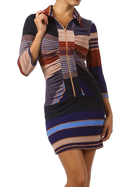 Waooh - Fashion - Reißverschluss Tunika