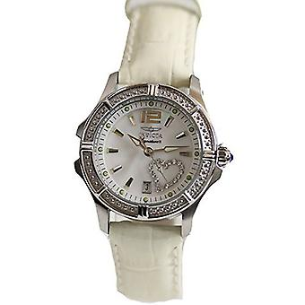 Invicta Women's Signature 7475 White Leather  Watch