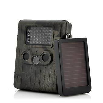 Game Camera With Rechargeable Battery + Solar Panel