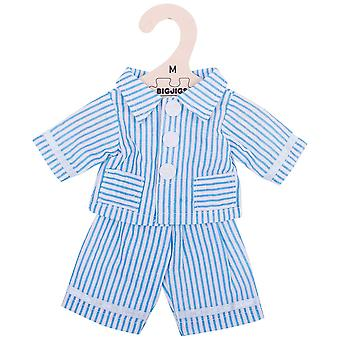 Bigjigs Toys Striped Rag Doll Pyjamas (34cm) Doll Clothing Outfit