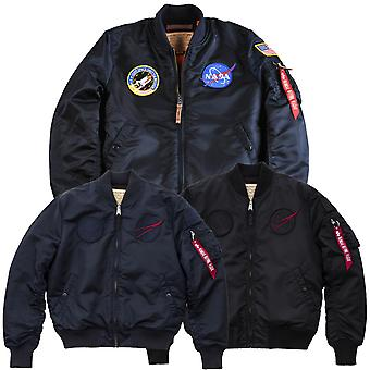 Giacca uomo Alpha industries NASA VF MA-1