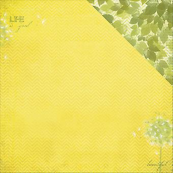 Scrapberry's It's A Wonderful Life Dbl-Sided Cardstock 12X12-A Soft Breeze