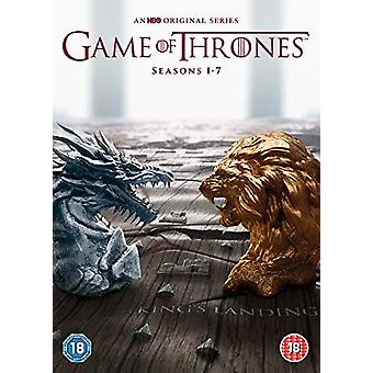 Game of Thrones - Season 1-7, DVD, 2017