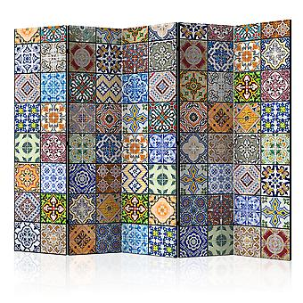 Room Divider - Colorful Mosaic II [Room Dividers]