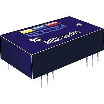 RECOM REC5-2405SRW/H4/A REC5-2405SRW/H4/A 5W DC/DC Converter REC5-2405SRW/H4/A 18 - 36 Vdc 5 Vdc 1 A 5 W