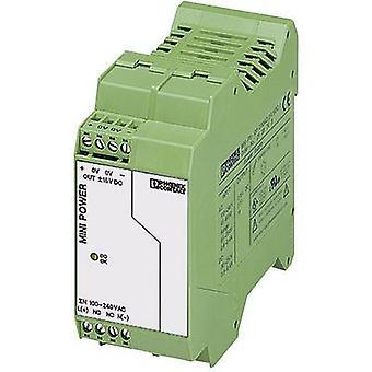 Phoenix Contact MINI-PS-100-240AC/2X15DC/1 Rail mounted PSU (DIN) 15 Vdc, -15 Vdc 1 A 15 W 2 x