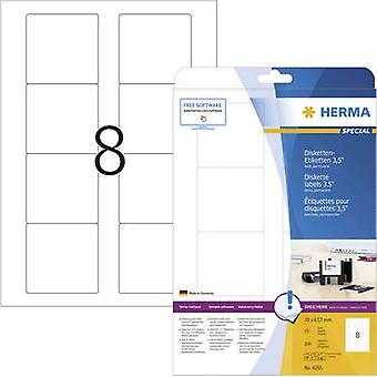 Herma 4355 Labels 70 x 67.7 mm Paper White