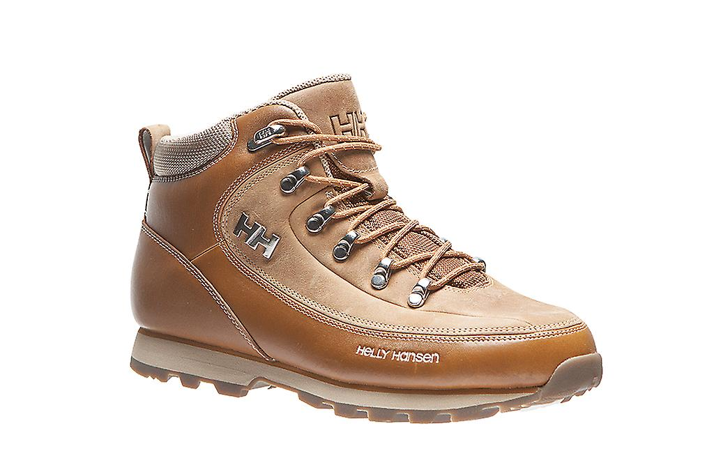 Helly shoes Hansen natural leather trekking shoes Helly the Forester Brown 645b5d