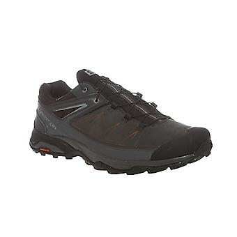 Salomon X Ultra 3 LTR Gore-Tex leather boots gray
