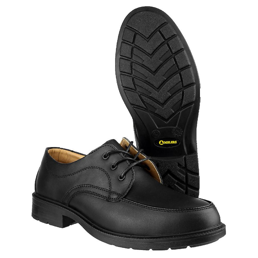 Amblers Mens FS65 Safety Gibson Steel Toe Leather Oxford Shoe S1-P-SRC