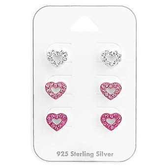 Heart - 925 Sterling Silver Sets - W38079x