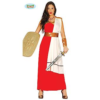 Were women's costume of ancient fighter soldier Warrior Gladiator Carnival