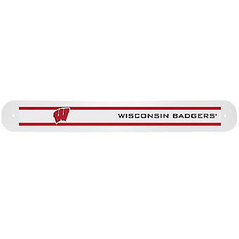 Wisconsin Badgers NCAA reiseveske tannbørste