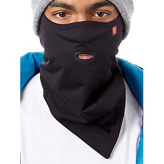 Airhole Black Standard 2-Layer Snowboarding Facemask