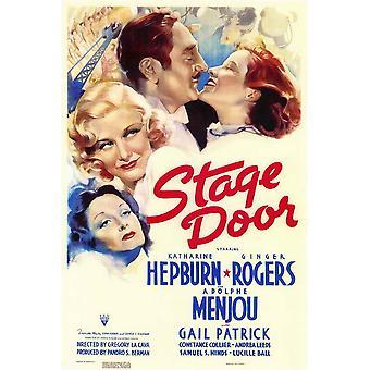 Affiche du film stage Door (11 x 17)