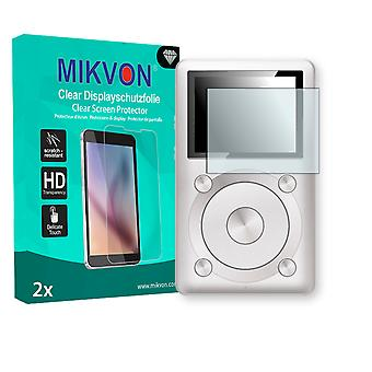 FiiO X1 Screen Protector - Mikvon Clear (Retail Package with accessories)