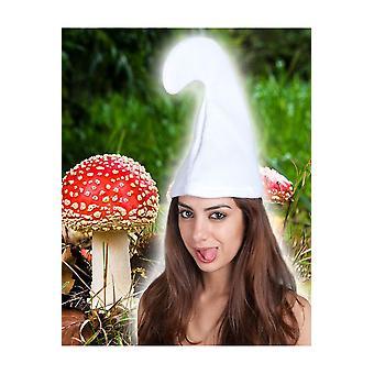 Kapelusze gnome białego Smerfa kapelusz