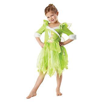 Tinker Bell invierno país de las maravillas de traje de niño de hadas de Disney hadas