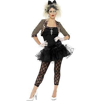 80s Wild Child Costume, UK Dress 16-18