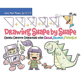 Drawing Shape by Shape - Create Cartoon Characters with Circles - Squa