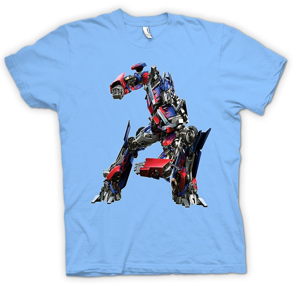 Mens t-skjorte - Optimus Prime - transformatorer