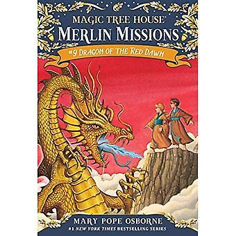 Dragon voor de Red Dawn: Merlin missie met tatoeages (Magic Tree House)