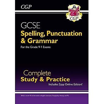 Spelling, Punctuation and Grammar for GCSE, Complete Revision & Practice