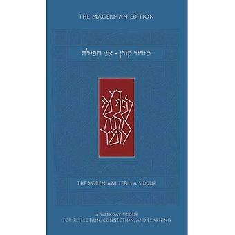 Koren Ani Tefilla Siddur, Compact, Ashkenaz, Hebrew/English