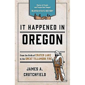 It Happened In Oregon: Stories of Events and People that Shaped Beaver State History (It Happened in Series)