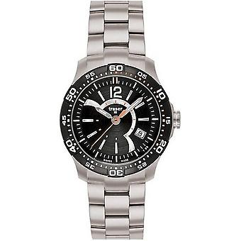 Traser H3 Ladytime black ladies watch T7392. 2A6. G1A. 01-100288