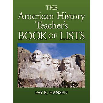 تاريخ أمريكا المدرسين الكتاب قوائم بواسطة هانسن & ر. فأي