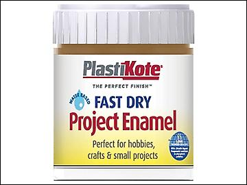 Plasti-kote Fast Dry Enamel Paint B17 Bottle Nut Brown 59ml