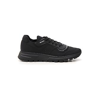 Prada Black Synthetic Fibers Sneakers