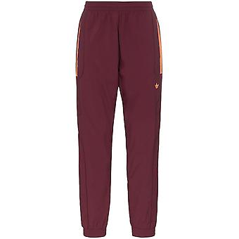 Adidas Red Polyester Joggers